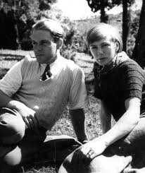 Nancy and Lawrence Durrell